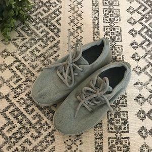 Allbirds Light Gray Women's Wool Runner Sneakers 7